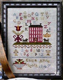 Dames of the Needle Eliza Anne Scott 1847