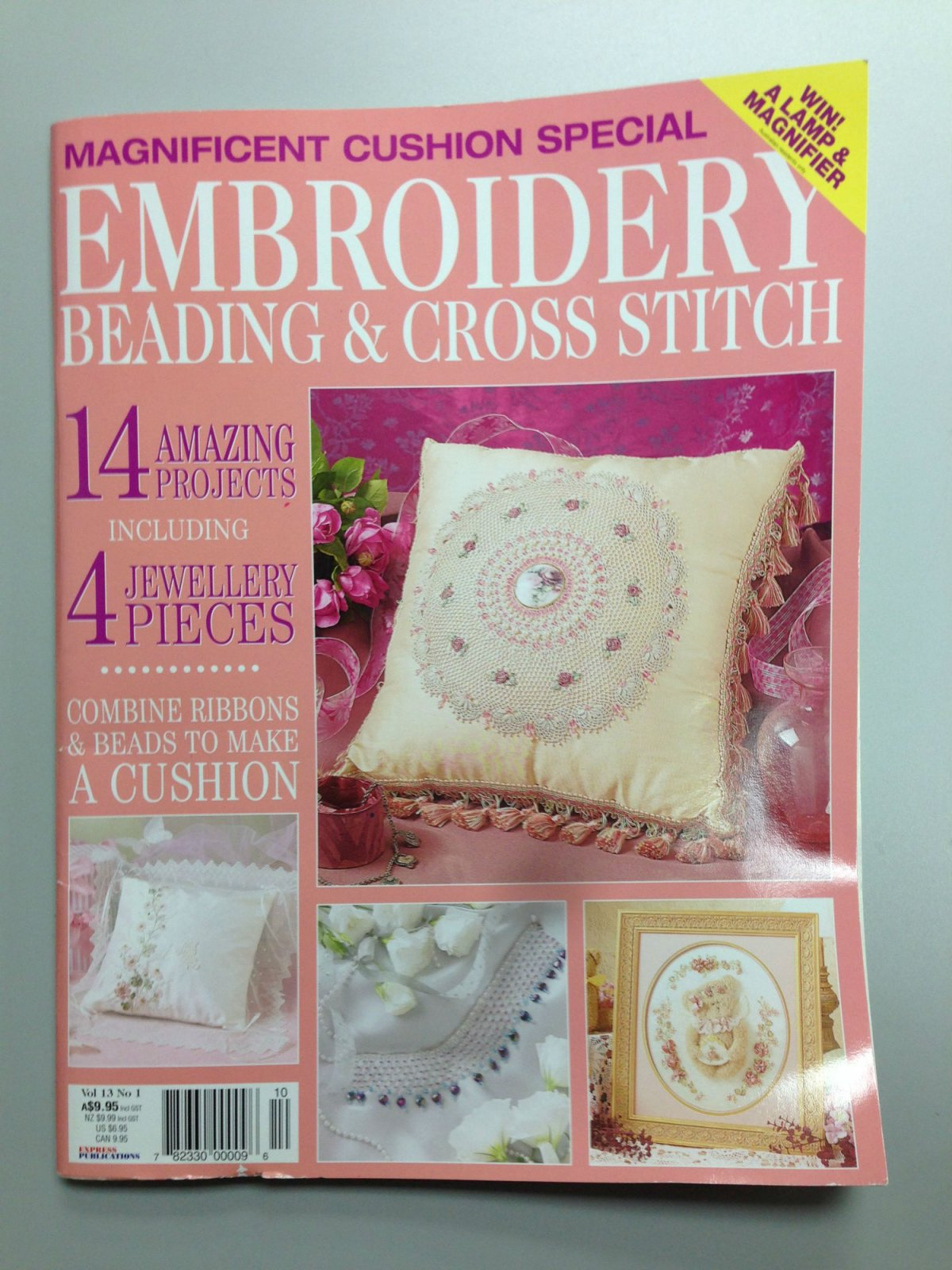 Embroidery Beading & Cross Stitch Vol 13 No. 1