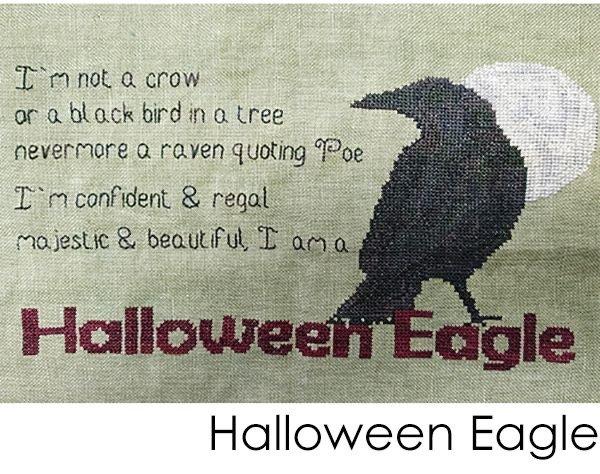 EJV Designs Halloween Eagle