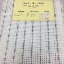 Find-A-Craft 10 ct 9 X 9 Waste Canvas