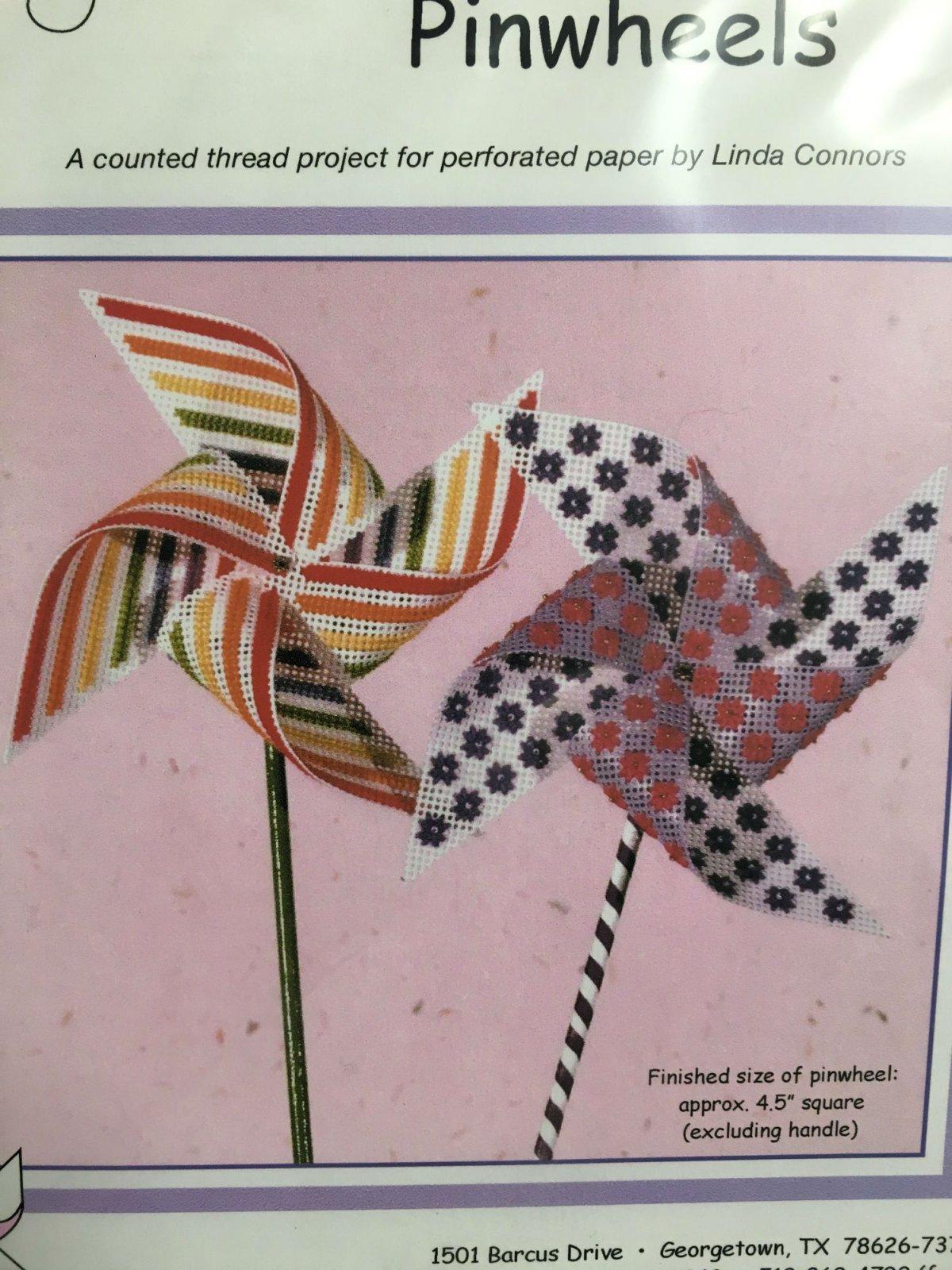 Calico Crossroads Floral Rainbow Pinwheels