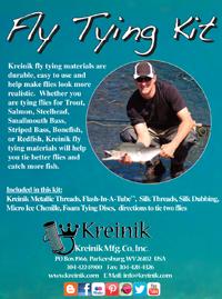 Kreinik Fly Tying Kit w/book