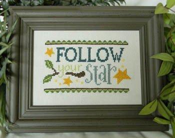 Cherry Hill Stitchery Follow Your Star