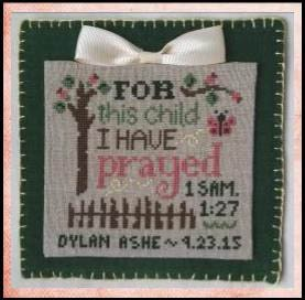 Cherry Hill Stitchery For This Child
