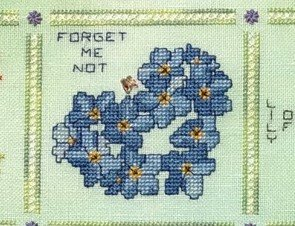 Fireside Originals Heart of a Wildflower Series Part 3: Forget-me-not