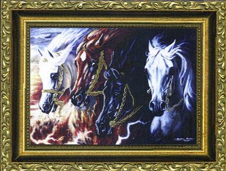 Kustom Krafts Four Horses of Apocalypse