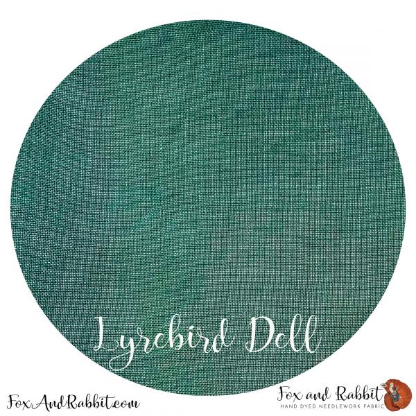 Fox and Rabbit LyreBird Dell 36 ct