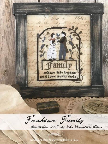 The Primitive Hare Fraktur Family
