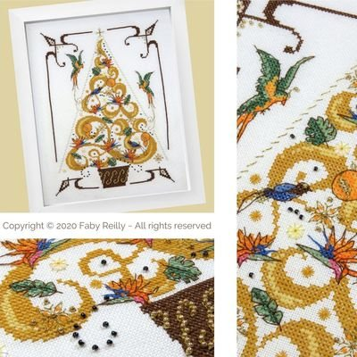 Faby Reilly Designs O Tannenbaum in Gold