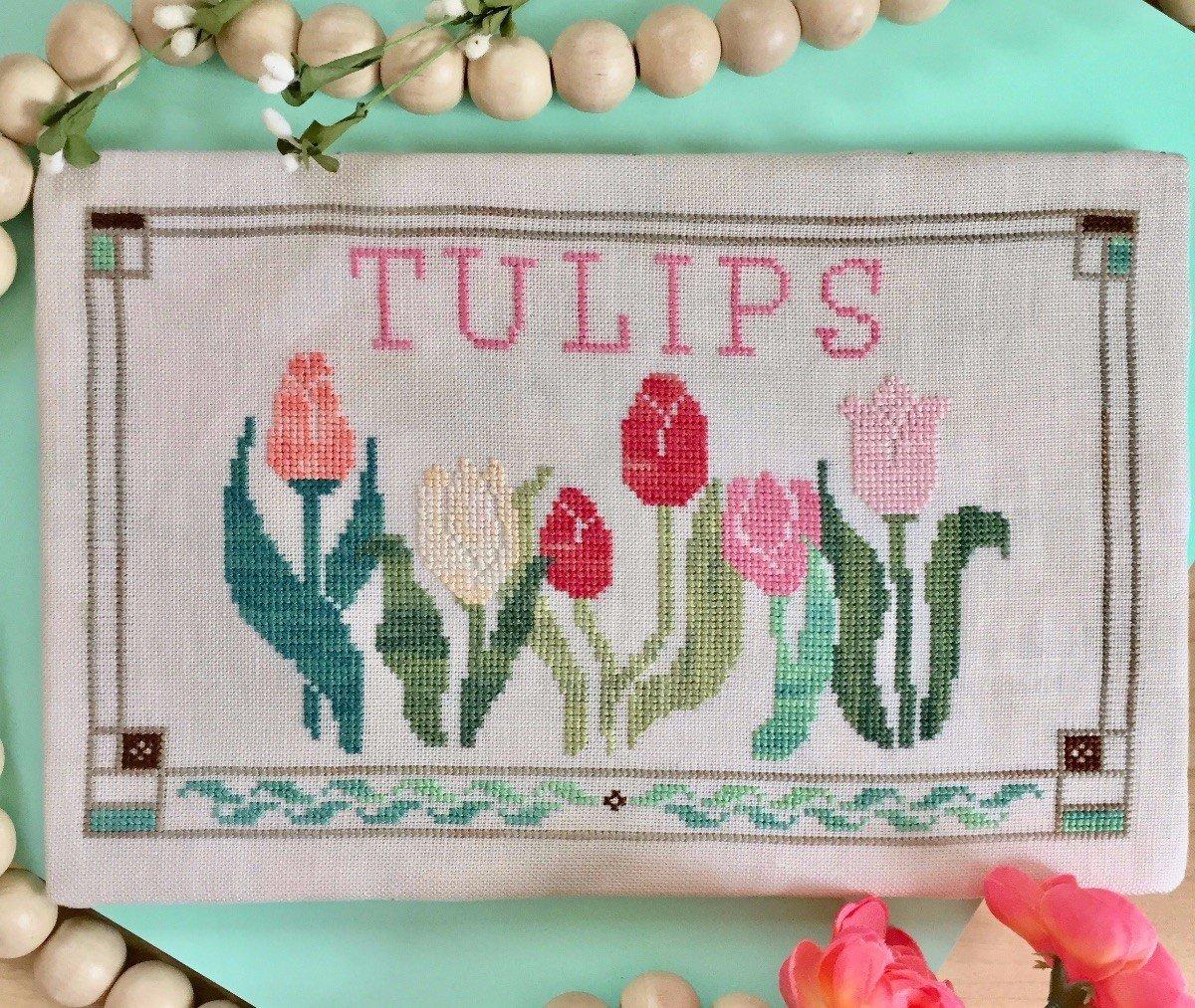 Petal Pusher Tulips
