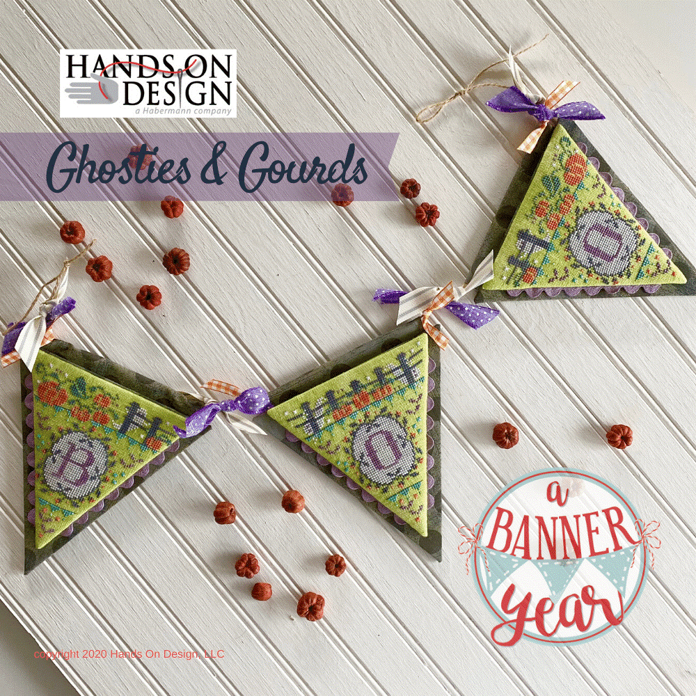 Hands On Design A Banner Year: Ghosties & Gourds