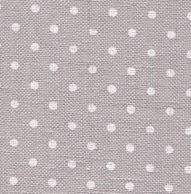 Wichelt/Zweigart Gray/White dots Petite Point Edinburgh