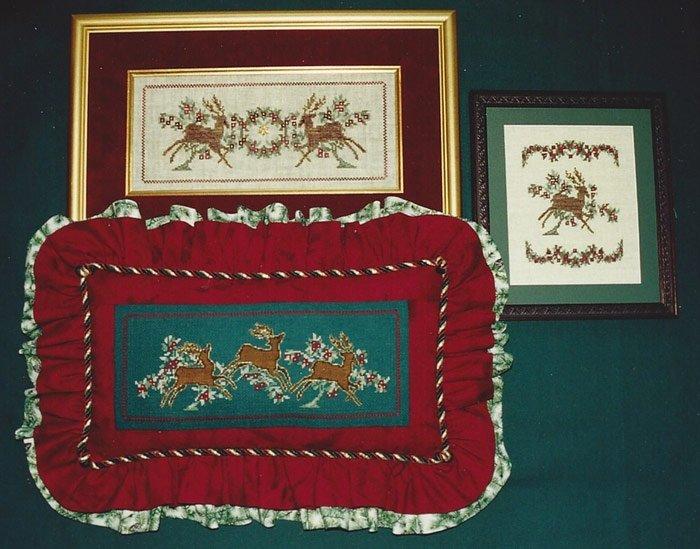 Annalee Waite Designs Holiday Deer
