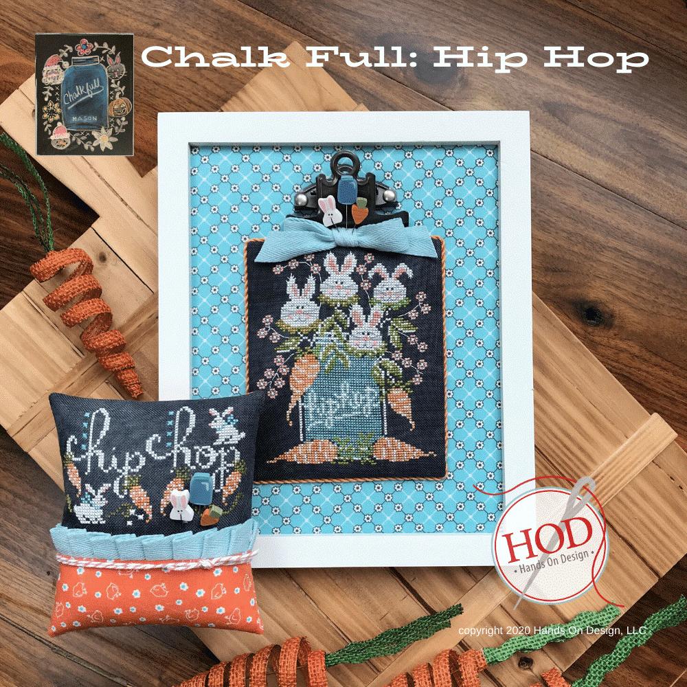Hands On Design Hip Hop - Chalk Full