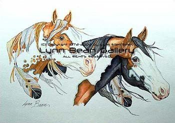 Lynn Bean Paint Horse 2