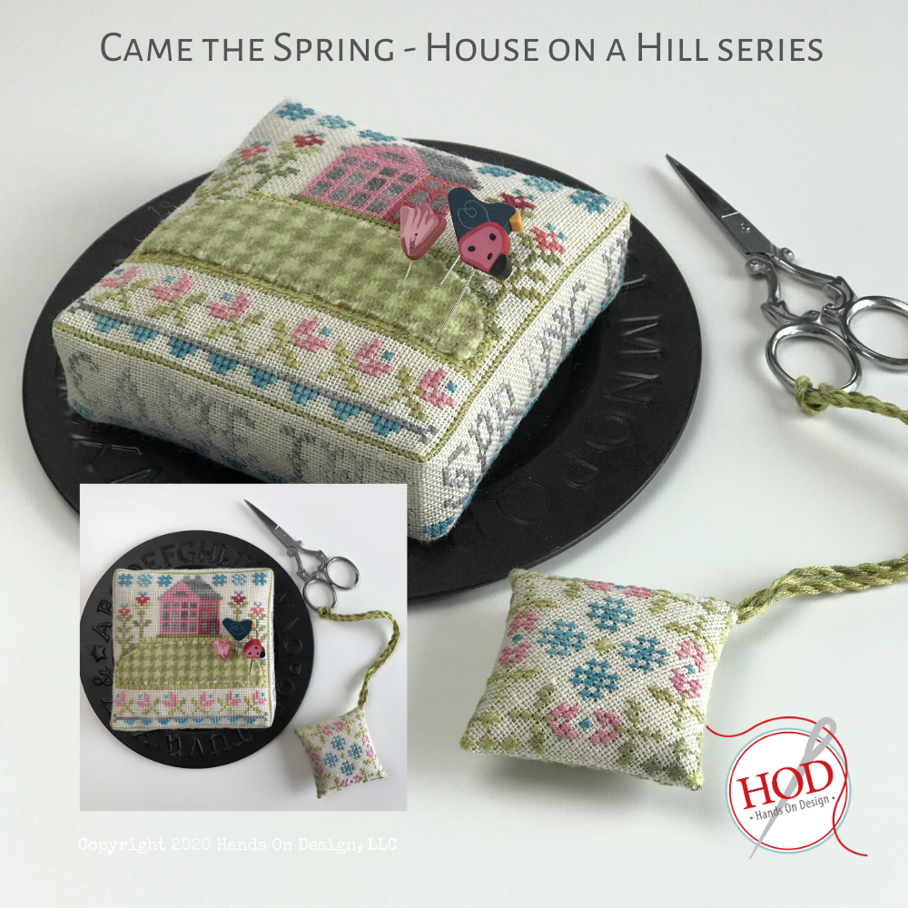 Hands On Design House on a Hill - Came the Spring w/wool