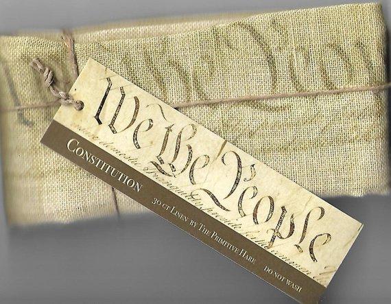 The Primitive Hare Constitution 30ct Linen