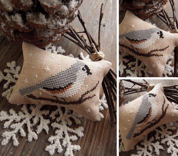 The Little Stitcher The Little Birds Calendar: November - Titmouse