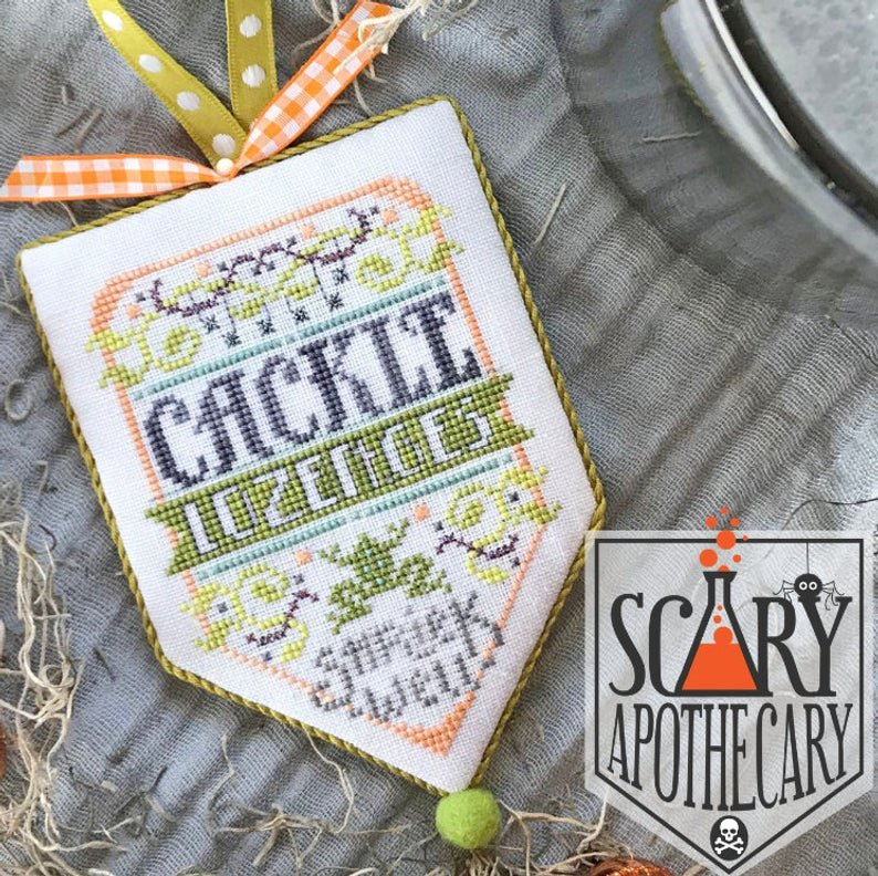 Hands On Design Scary Apothecary: Cackle Lozenges