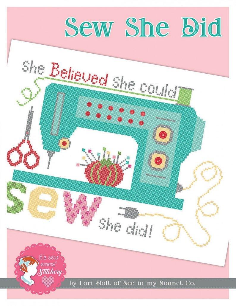 It's Sew Emma Sew She Did
