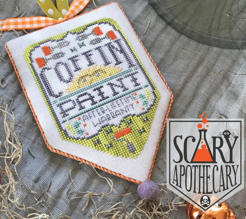 Hands On Design Scary Apothecary: Coffin Paint