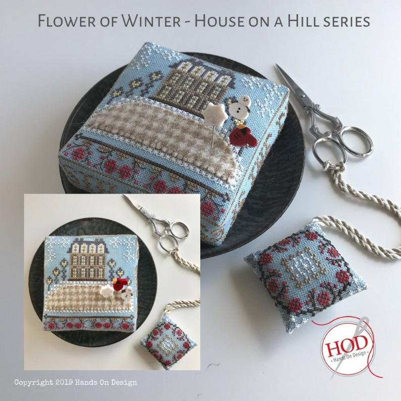 Hands On Design House on a Hill - Flower of Winter