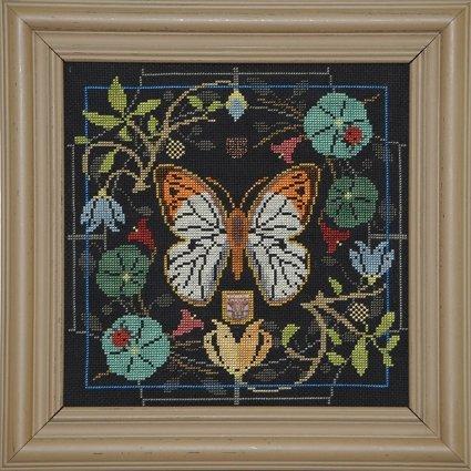 Tellin Emblem Butterfly in Bloom 100