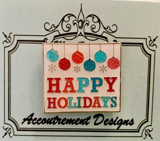 Accoutrement Designs Happy Holidays