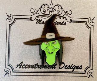 Accoutrement Designs Green Witch