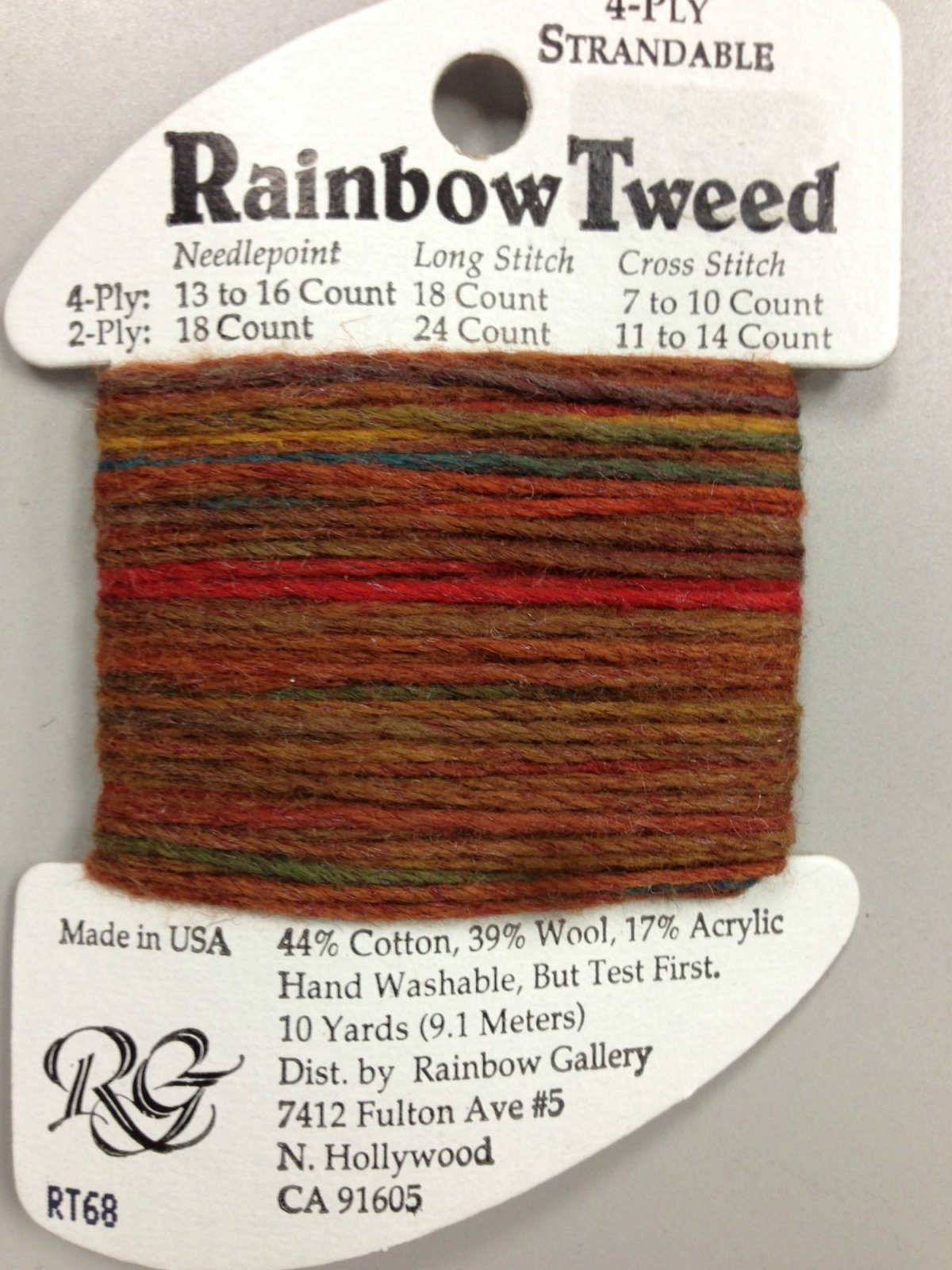 Rainbow Tweed RT68