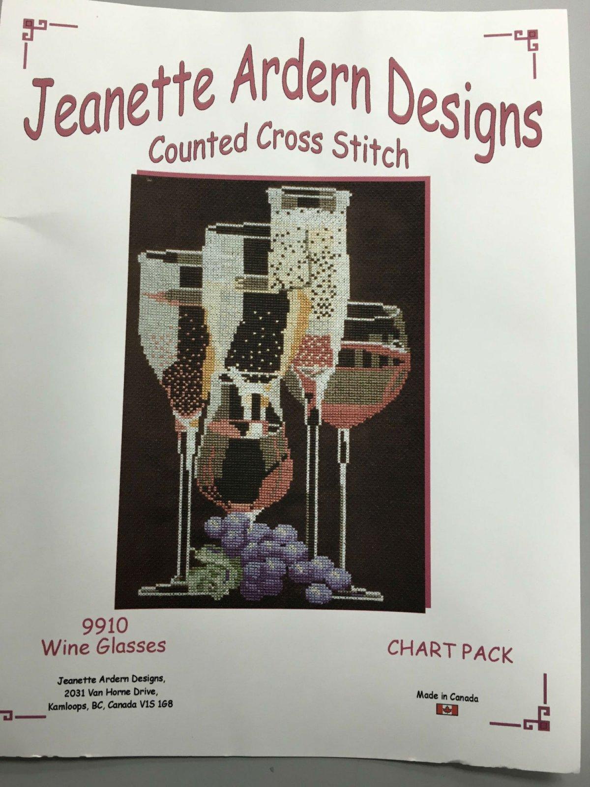 Jeanette Ardern Designs Wine Glasses