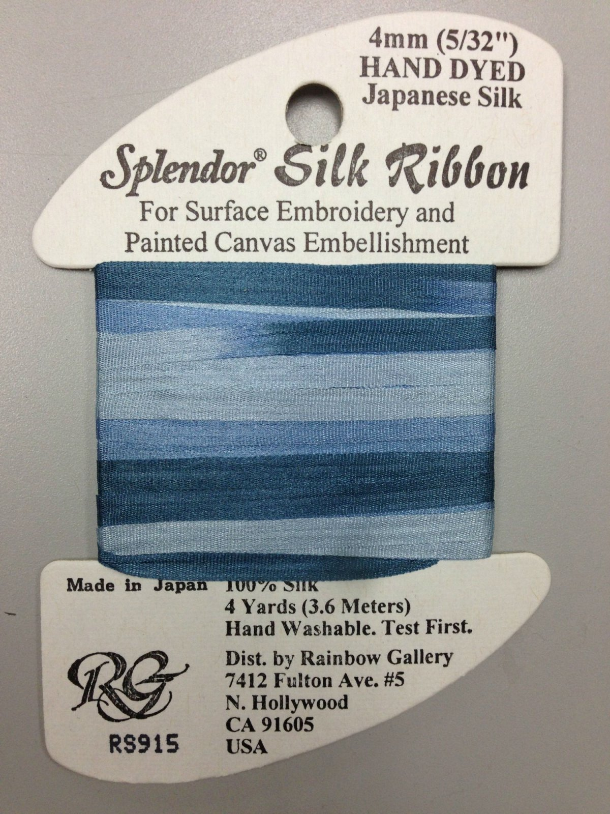Splendor Silk Ribbon R915