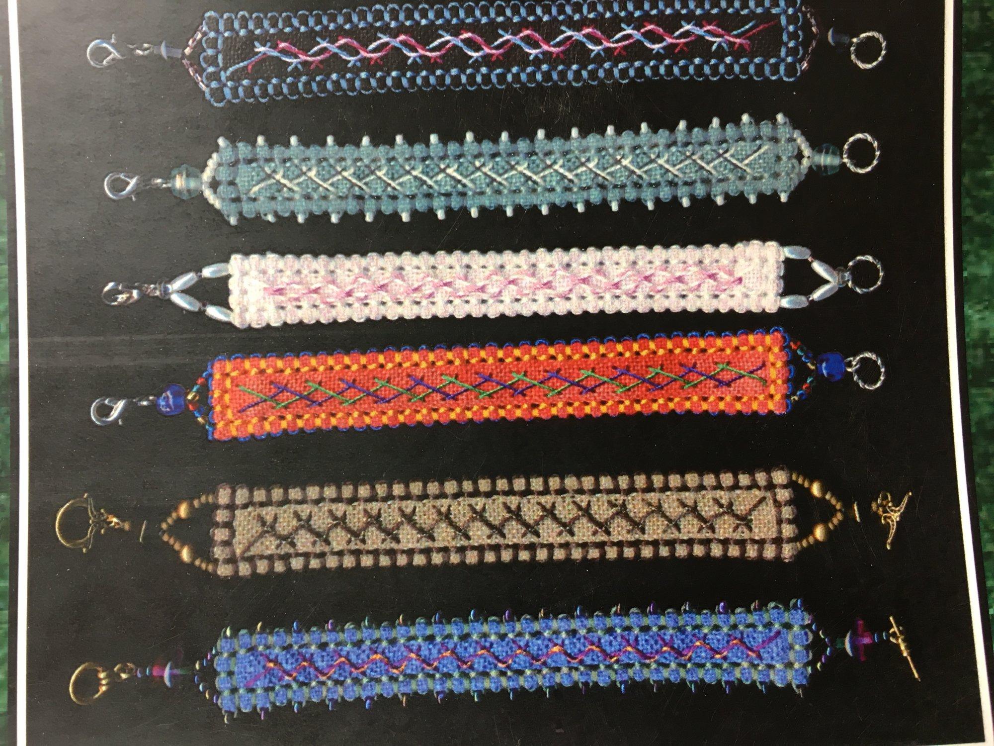 Funk & Weber Designs Herringbone Bracelets