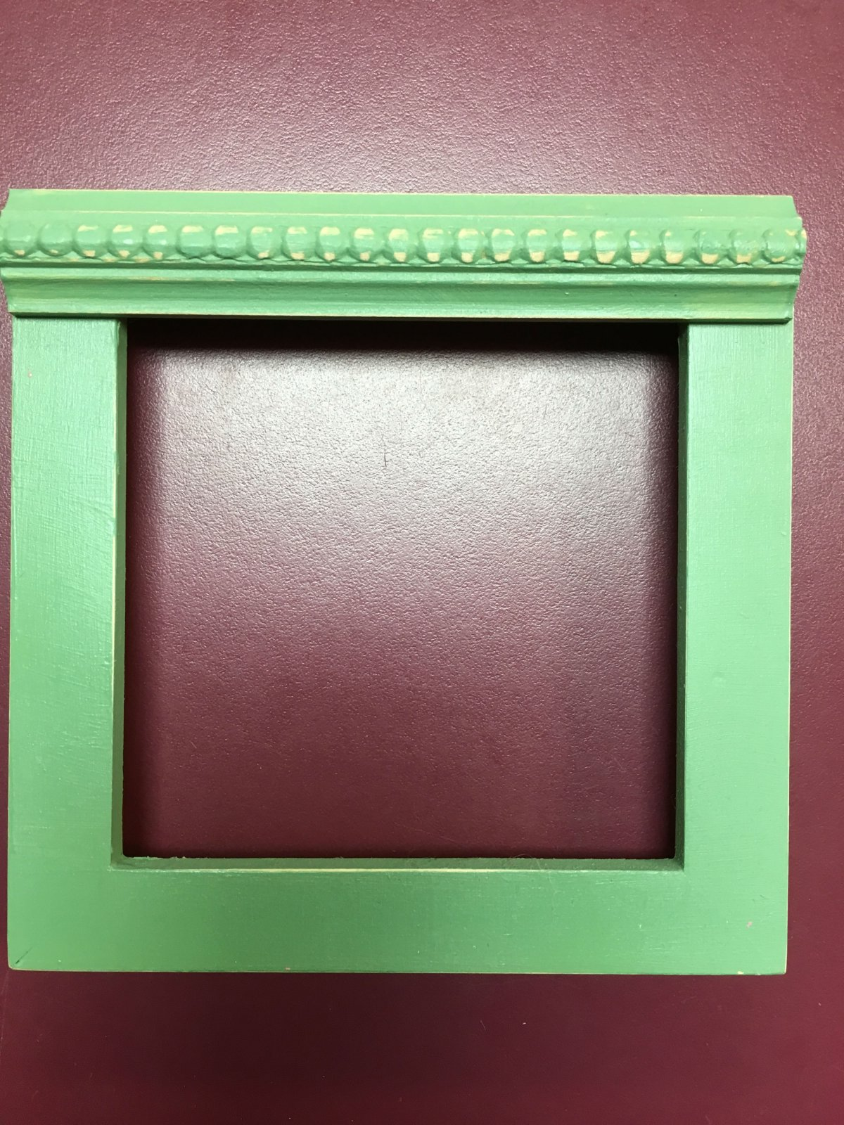 Cookie's Frames Green 4 x 4