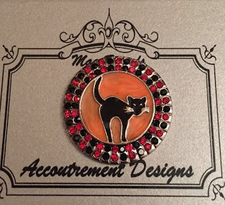 Accoutrement Designs Halloween Cat