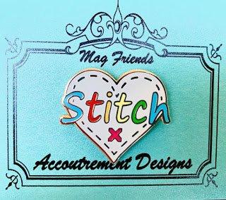 Accoutrement Designs Colored Stitch