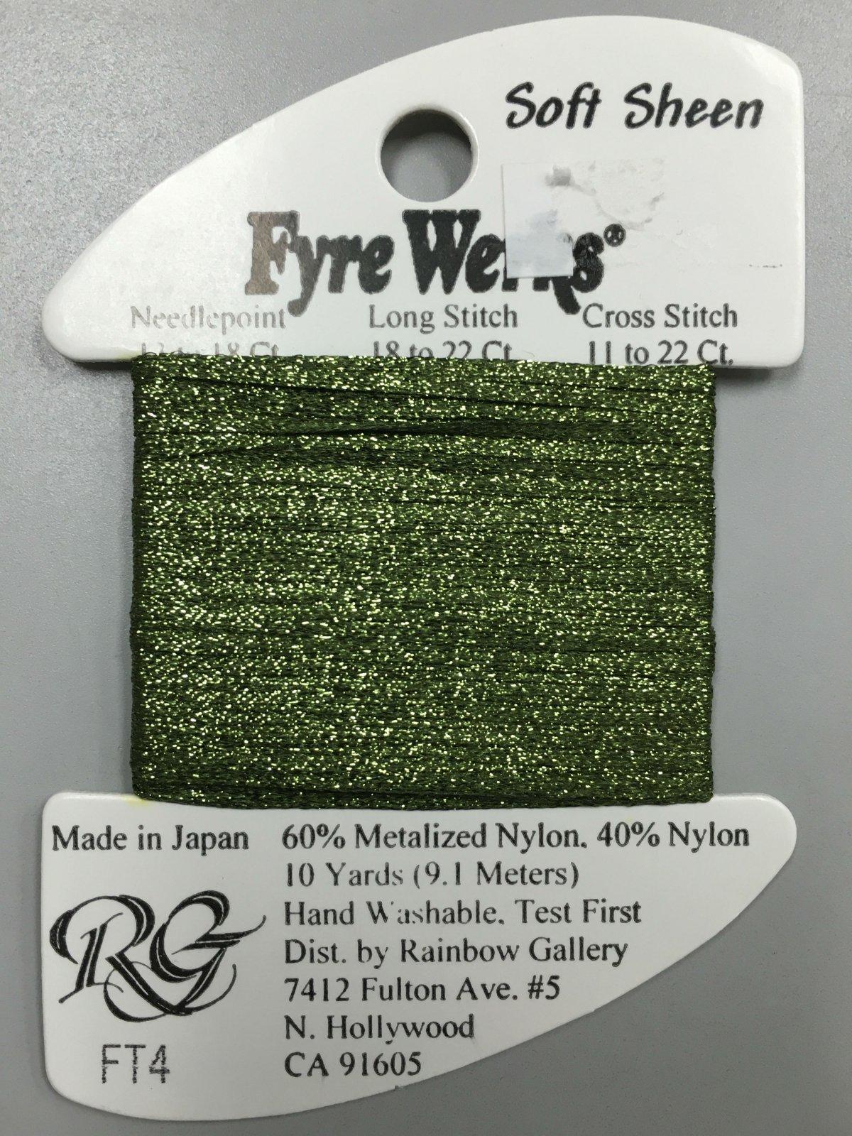 Fyre Werks Soft Sheen FT4