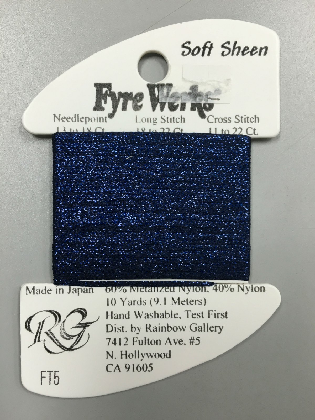 Fyre Werks Soft Sheen FT5