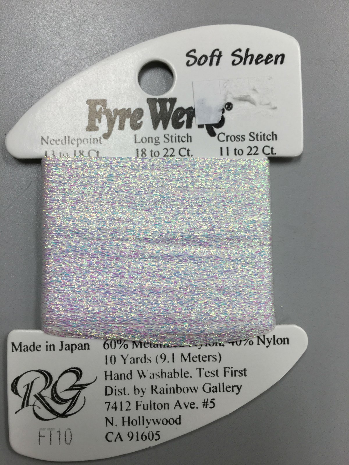 Fyre Werks Soft Sheen FT10