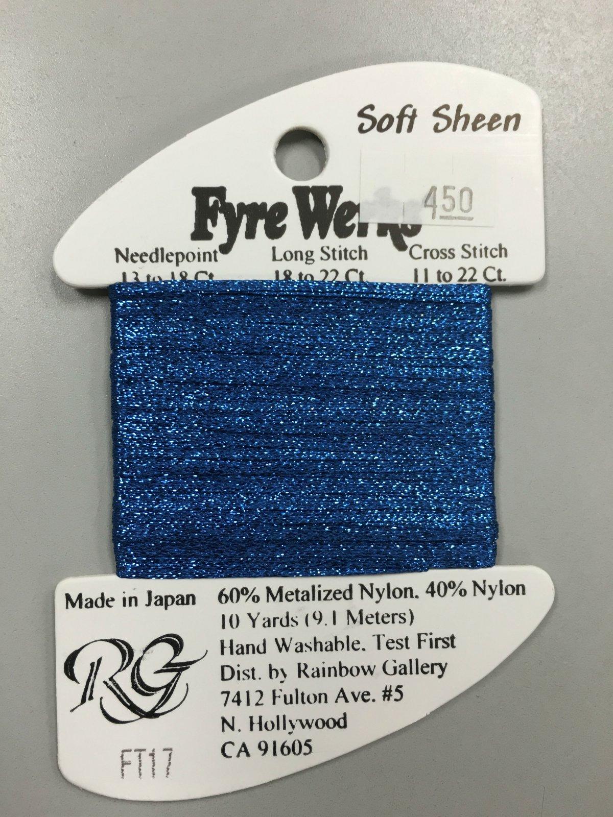 Fyre Werks Soft Sheen FT17