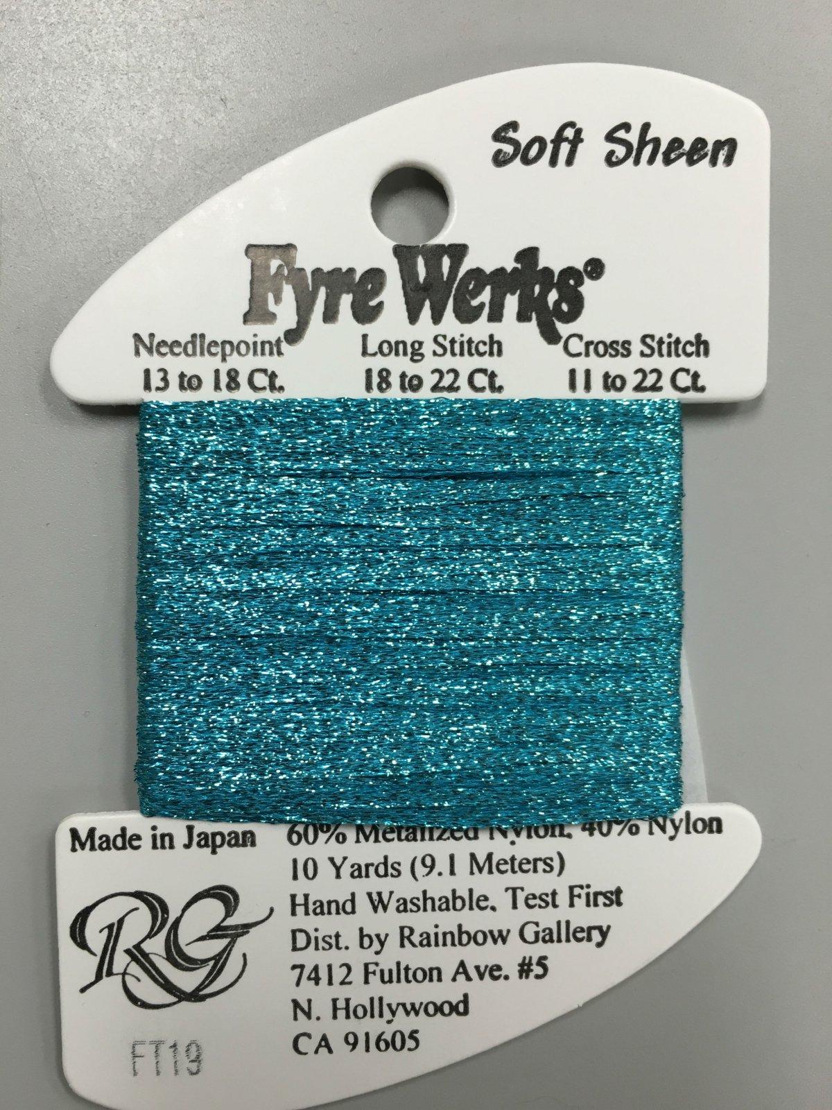 Fyre Werks Soft Sheen FT19