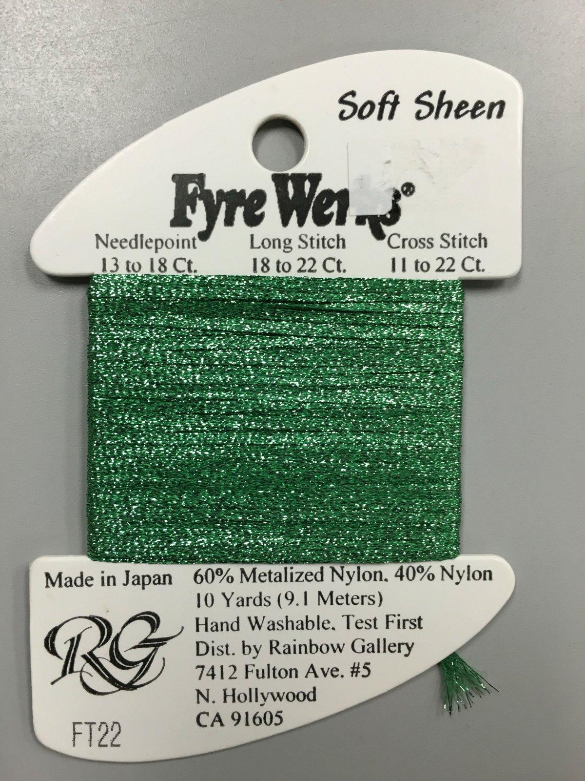 Fyre Werks Soft Sheen FT22