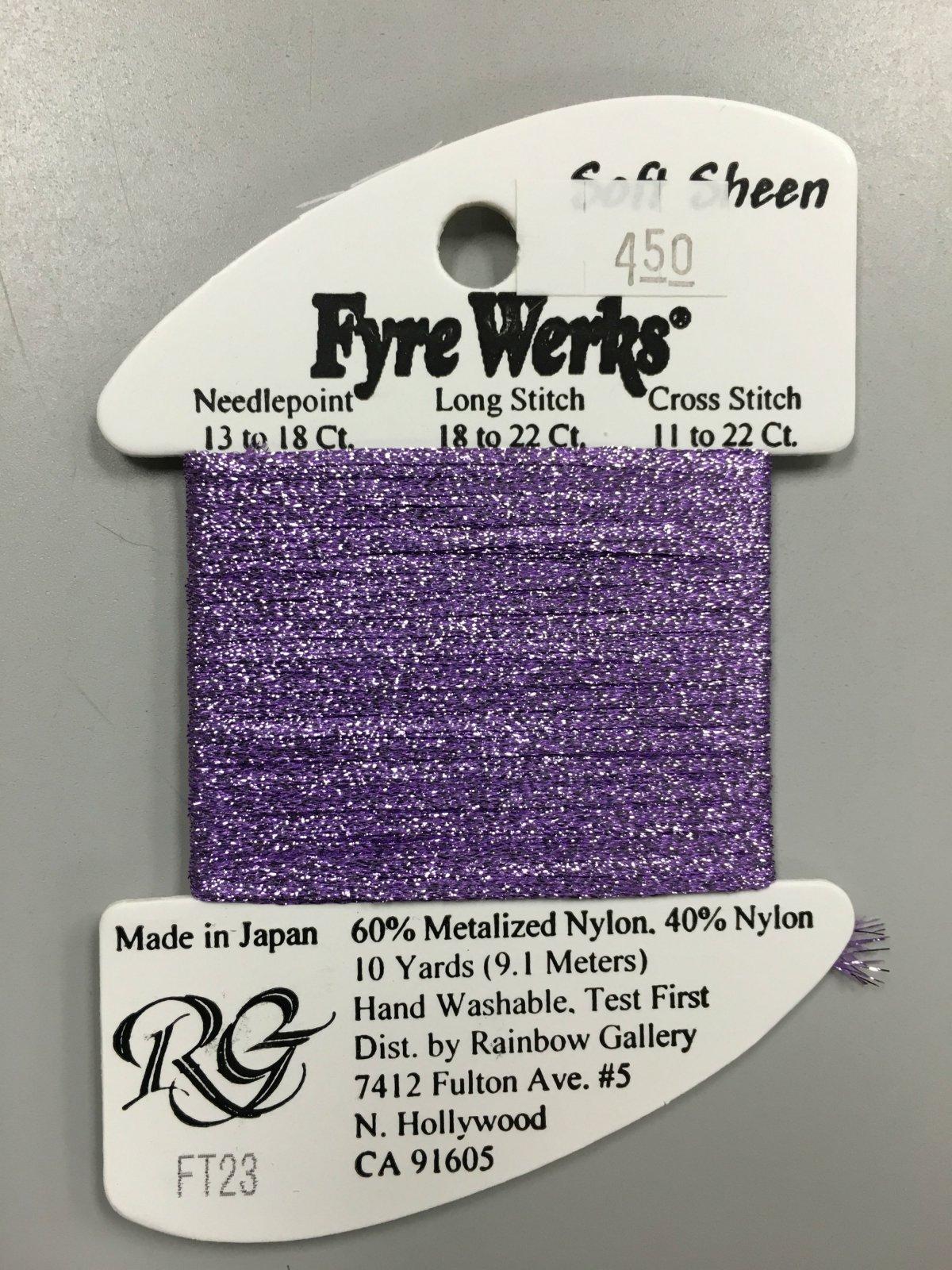 Fyre Werks Soft Sheen FT23