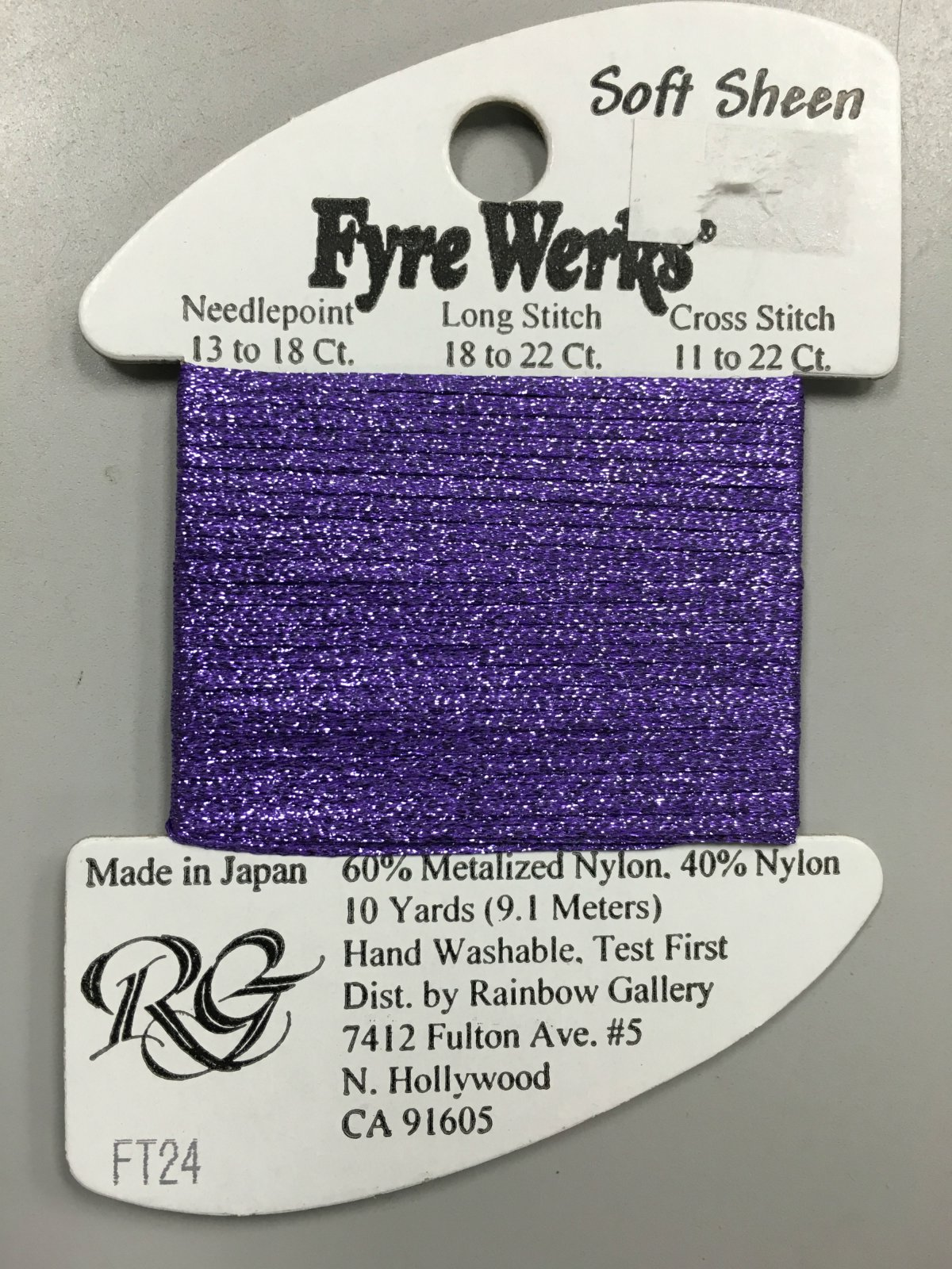Fyre Werks Soft Sheen FT24