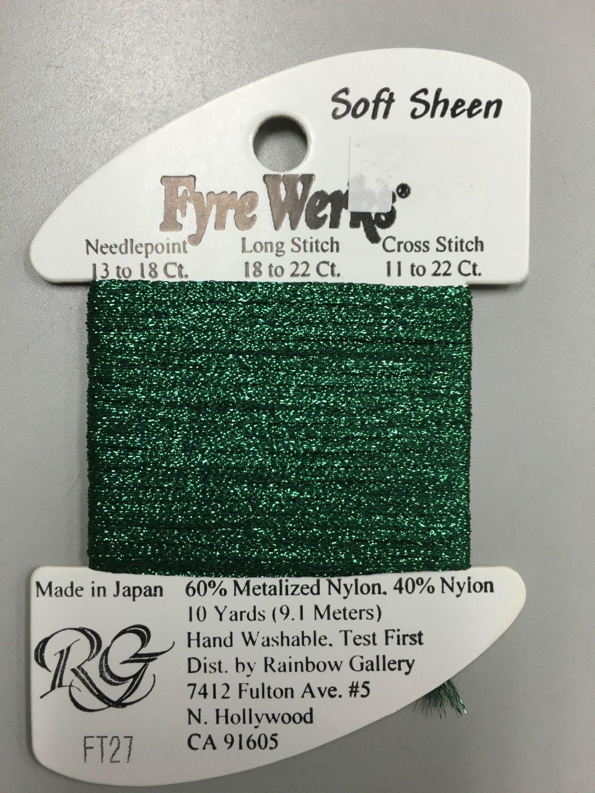 Fyre Werks Soft Sheen FT27