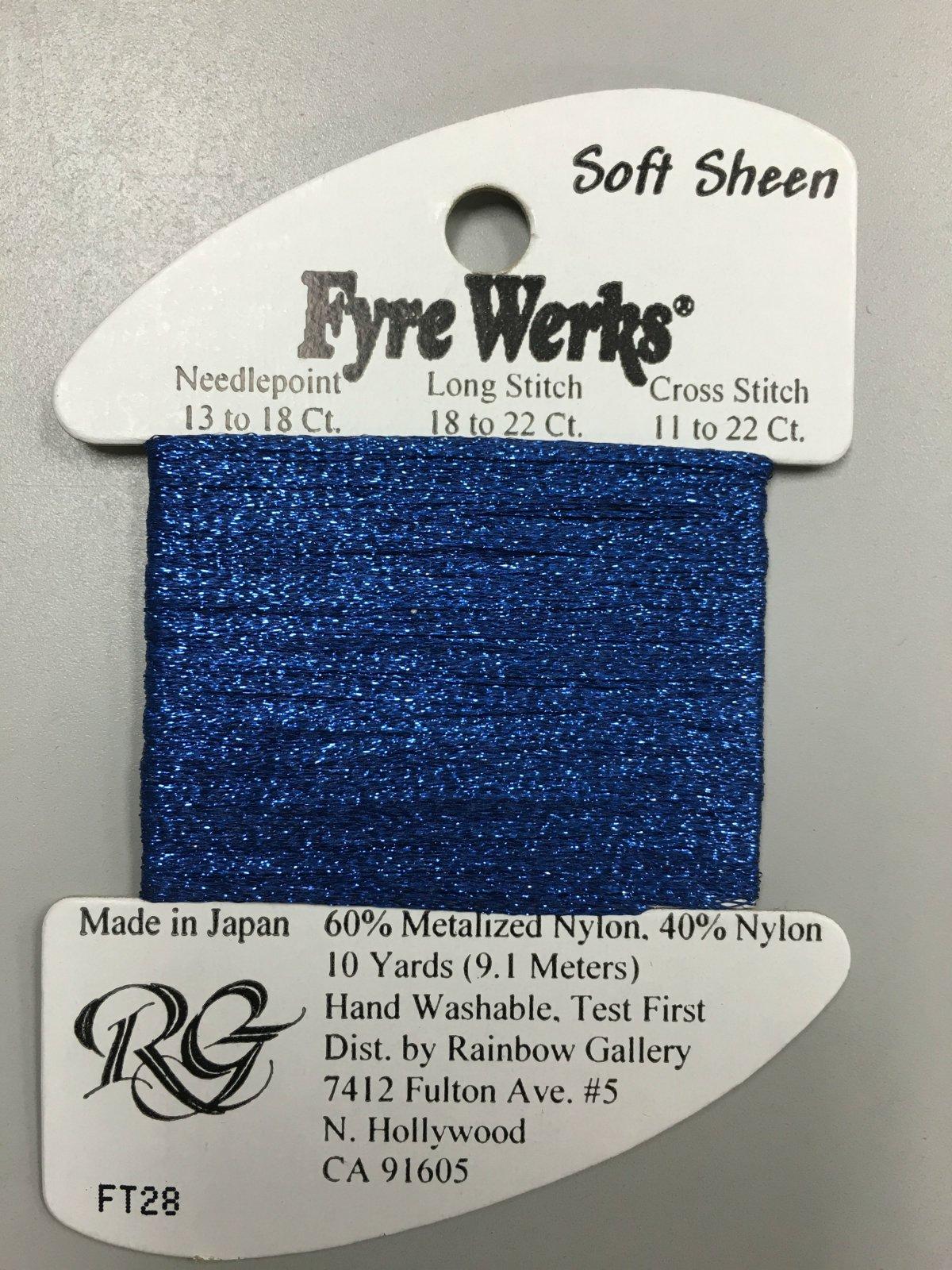 Fyre Werks Soft Sheen FT28