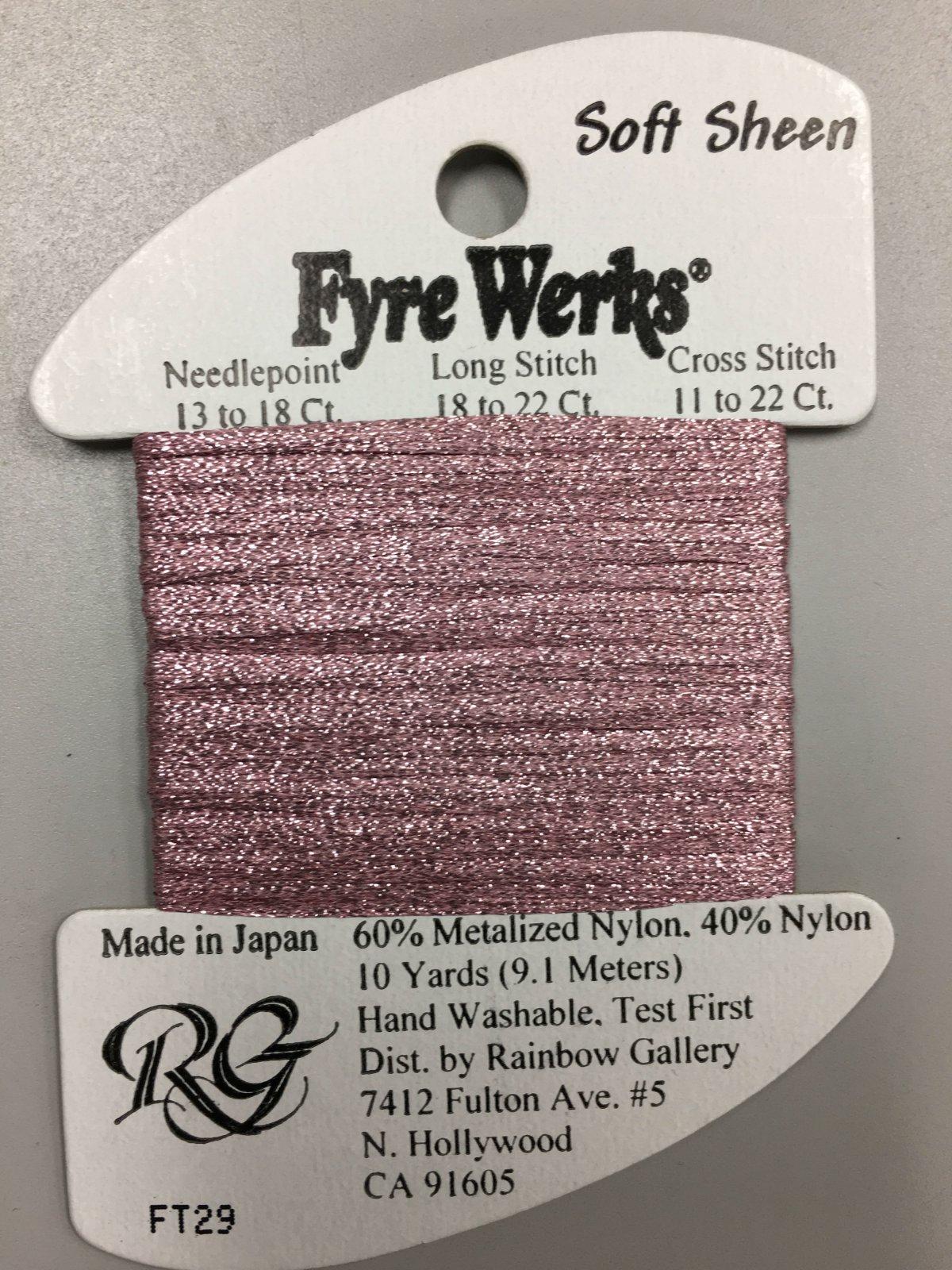 Fyre Werks Soft Sheen FT29