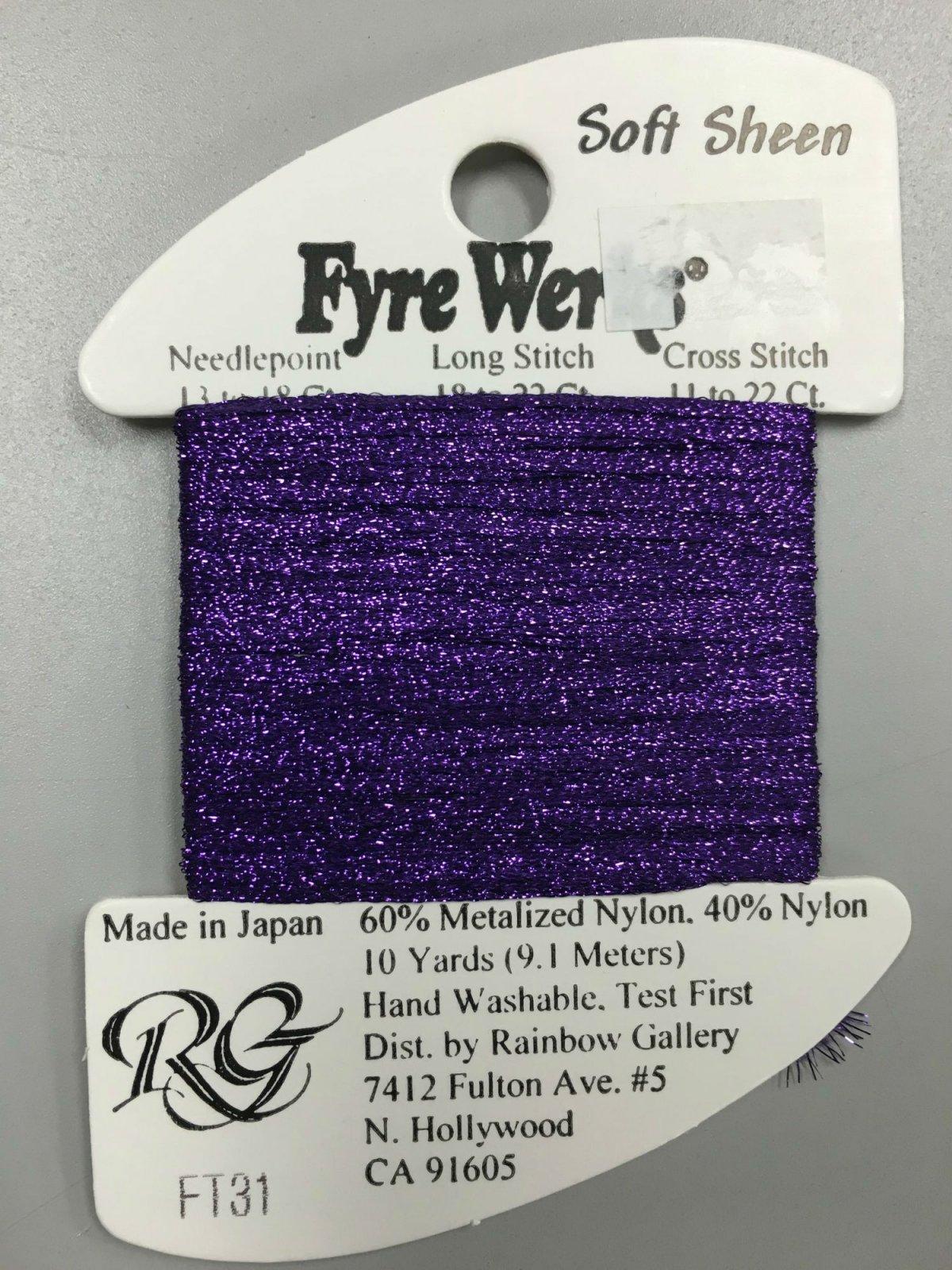 Fyre Werks Soft Sheen FT31
