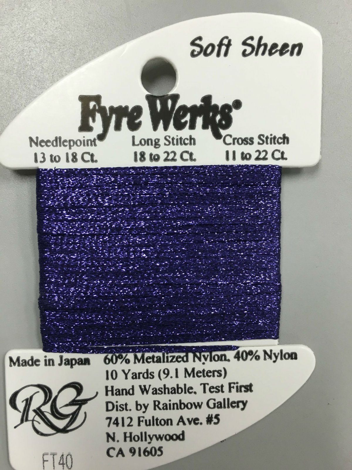 Fyre Werks Soft Sheen FT40