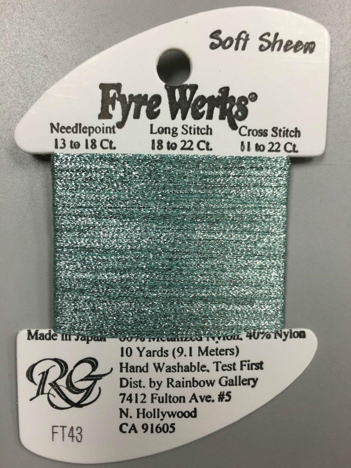 Fyre Werks Soft Sheen FT43